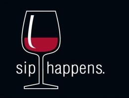 Funny drinking sign - SIP HAPPENS
