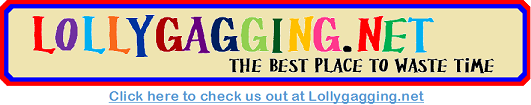 Lollygagging.net advertising banner